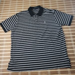 RALPH LAUREN POLO XXL CASUAL PONY STRIPED SHORT SL